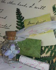 Fairy writing set