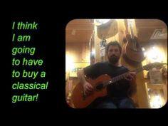 Chad Garber Testing Classical Guitar