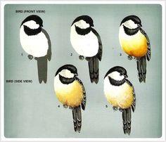 Birds in my garden - Oksana Volkova - Picasa Web Albums Tole Painting, Fabric Painting, Painting & Drawing, Watercolor Paintings, Watercolors, Bird Drawings, Animal Drawings, Painting Videos, Painting Techniques