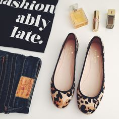 "4x host pick! KATE SPADE New York Espadrille kate spade new york vilette calf hair espadrille  † sz 6 † dyed leopard-print calf hair (brazil) † grosgrain collar † slight square toe † braided jute midsole † 1/2"" flat heel † padded leather insole † ""vilette"" is made in brazil † new; no box. sticky residue on bottom sole from pricing stickers  host pick!   ⠀12.29.15 › new year, new you ⠀01.11.16  › cozy chic ⠀2.15.16  › best in shoes & boots ⠀3.29.16 › best in shoes  disclaimer: ⠀✗ i do not…"