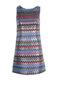 Oxygen | alice + olivia Donovan Sleeveless Shift Dress