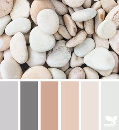 Stone Tones - love this colour palette, as I have it in my home