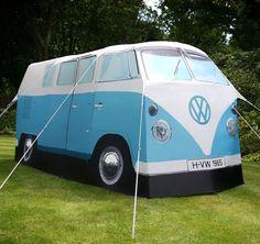 1965 Volkswagen Camper Van is Really a Tent