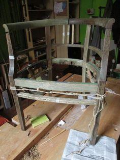 Poltroncina in legno 800