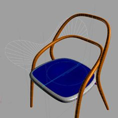 Jaroslav Juřica 002 Chair - The designer Jaroslav Juřica continues in the tradition of Michael Thonet and improves his legendary chair No. which consists of 6 parts, he shifts it further, while respecting comfort and perfect design. Outdoor Chairs, Outdoor Furniture, Outdoor Decor, Divider, Traditional, Design, Home Decor, Decoration Home, Room Decor