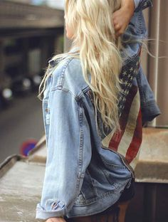 Perfect Memorial Day denim!