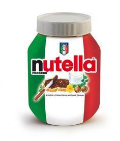 Nutella Limeted Edition Calcio-voetbalbeker Italia