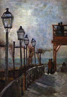 Vincent van Gogh, Montmartre Near the Upper Mill
