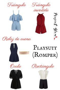 playsuit o romper Inverted Triangle Outfits, Inverted Triangle Body, Triangle Body Shape, Petite Fashion, Curvy Fashion, Trendy Fashion, Fashion Outfits, Fashion Tips, V Shape Body