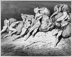 Inferno Canto VII con Parafrasi e Commento