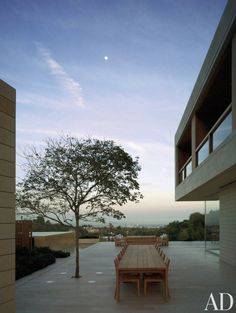 Modern Outdoor Space by John Pawson Ltd. and John Pawson Ltd. in Los Angeles, California