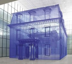 Artist Do-Ho Suh's ghostly fabric sculptures explore the meaning of home One of our favorite contemporary artists has just come out with his largest work to date. Do Ho Suh is a Korean sculptor and installation artist who's known for his thought-provoking Do Ho Suh, Instalation Art, Miro, Artistic Installation, Fabric Installation, Art Installations, Installation Architecture, Modelos 3d, Wallpaper Magazine