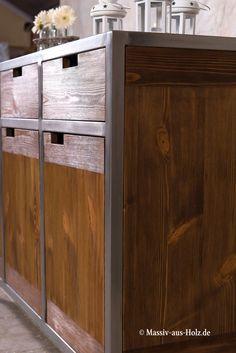 mobel im industriedesign ein look aus holz metall das credo lautet mit herbem fabrikcharme glanzen und trendige highligh