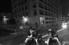 A ride to the Bastard's style. www.bastards-shop.com #bastards #bastardsbcn #harleydavidson #honda #barcelona #sitges #summer #enjoy #rental #hire #bobber #chopper #weekend#