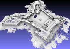 3D model of San Sebastian Fortress, Mozambique