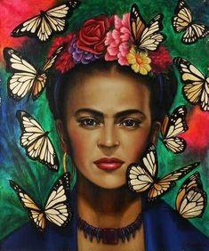 Frida Kahlo Artwork, Frida Kahlo Portraits, Kahlo Paintings, Frida Art, Acrylic Paintings, Frida Y Diego Rivera, Mexican Artists, Buy Art Online, Art Auction