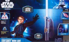Uncle Milton Star Wars R/C Lightsaber Room Light