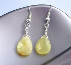 Hey, I found this really awesome Etsy listing at https://www.etsy.com/listing/247466062/yellow-jasper-wire-wrapped-teardrop
