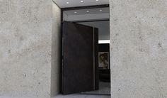iron doors minimalist - Buscar con Google