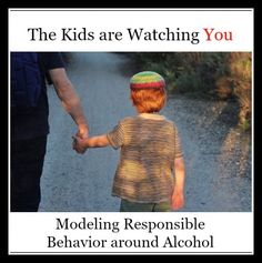 The Kids are Watching: Modeling Responsible Alcohol Use
