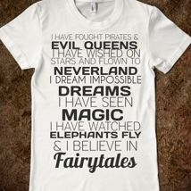 Fairytales from Glamfoxx Shirts