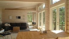 Eco wooden prefab house - TOIVONPURO - Honka Log Homes