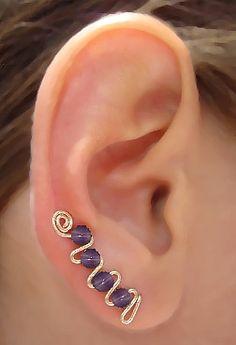 D'alatrou ear sweep earrings