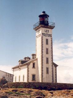 Phare de l'Île aux Moutons Fouesnant Finistère France 47.774444, -4.027778
