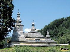 Slovakia, Miroľa - Wooden church