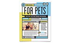 Pet Boarding - Flyer Template