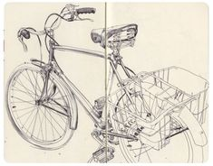 bi~cycle! bi~cycle!  Moleskine by James Jean