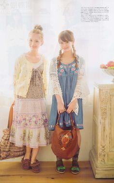 Adorable Mori girls.  <3