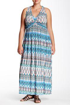 2ede7503c3af4 Plus Size Maxi Dress. Charmaine Marks Godfrey