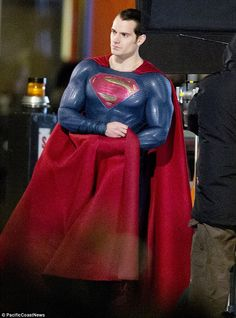 More Great Quality BATMAN V SUPERMAN Set Photos