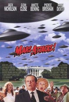 Mars Attacks Affiche