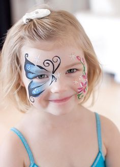 face painting idea for fairy party