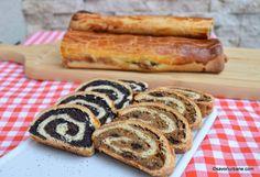 baigli reteta adevarata traditionala Dessert Recipes, Desserts, Hot Dog Buns, Recipies, Good Food, Sweets, Mac, Bread, Baking
