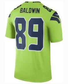 Nike Men s Doug Baldwin Seattle Seahawks Legend Color Rush Jersey Men -  Sports Fan Shop By Lids - Macy s 7003a872c8e
