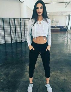 Amazing Workout Clothes Outfits to impress and progress - Outdoor Click Lazy Outfits, Sport Outfits, Casual Outfits, Cute Outfits, Fashion Outfits, School Outfits, Fashion Ideas, Estilo Fitness, Gym Clothes Women