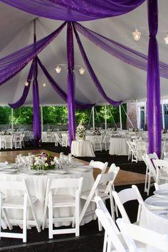 Purple Wedding Decorations | http://simpleweddingstuff.blogspot.com/2014/10/purple-wedding-decorations.html