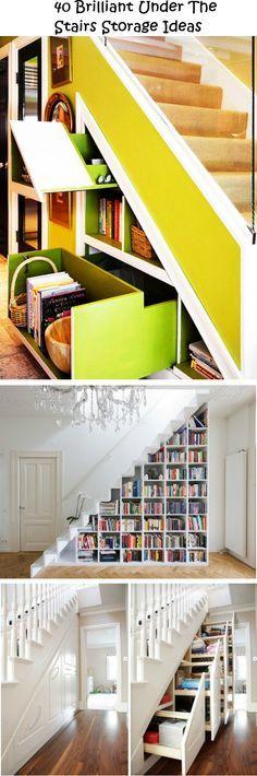 40 Brilliant Under The Stairs Storage Ideas