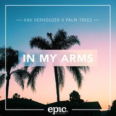 """""""In My Arms"""" by Kav Verhouzer Palm Trees #Music"""