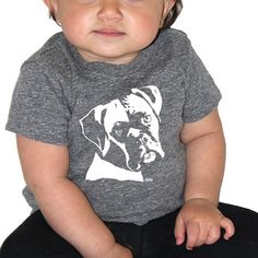 Boxer Dog Baby Tshirt, Dog Baby T-shirt, Dog Themed Birthday Party, Baby Boy Clothes, Toddler Girl Clothes, New Baby Nephew Gift, Niece Gift