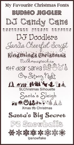15 Christmas Fonts » The Purple Pumpkin Blog