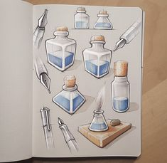 """some more illustrative markersketch from my sketchbook."" #id #industrial #product #design #sketch #idsketch"