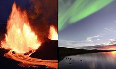 Stunning pictures of the volcano Bardarbunga erupting