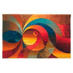 Lights of Dawn - Maximo Laura Tapestry Art - Hand Woven Alpaca Art Textile, Textile Artists, Contemporary Tapestries, Tapestry Online, Tapestry Weaving, Fabric Art, Art Techniques, Fiber Art, Modern Art