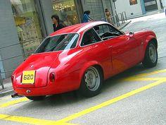 Alfa Romeo Giulietta Sprint Zagato Coda Tonda (round tail)