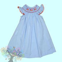 72 Best Smocked Dresses Images Smock Dress Smocked