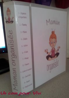 Classeur de maman organisée  http://1boutdevie.over-blog.fr/pages/Mon_classeur_de_maman_organisee--7434922.html
